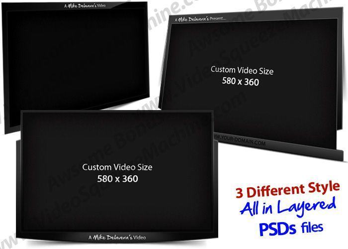 Video Squeeze Machine PRO - Bonus Video Frame