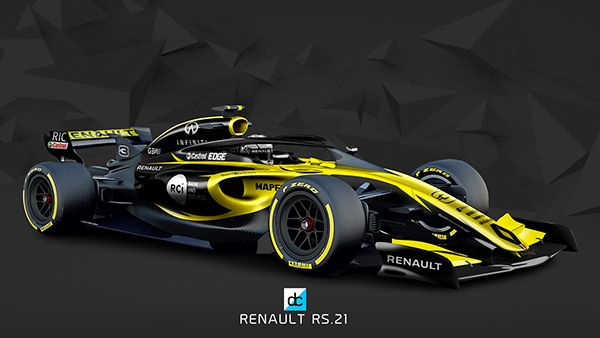 2021 F1 Concept Liveries On Behance Dream Cars Racing Concept