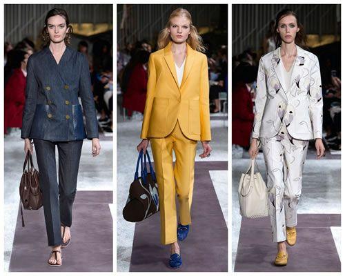 Bayan Takım Elbiselerinin Yükselişi.... Takım elbiseler, her zaman çalışan kadının dolabında olmuştur. Klasik bir çizgi ve ciddi renklerde, klasik kullanımı ile karşımıza çıkmaktadır genellikle. Bu yıl ise takım elbisenin bayanların, dolabındaki konumu değişiyor. 2015 moda anlayışında bir bomba etkisi yaratıyor. Takım elbiseleri artık, klasik kullanım şeklinden ve ciddi havasından uzak bir şekilde görüyoruz. Özellikle gece davetlerinde dikkat çekici kombinler ve renkler ile karşımıza…