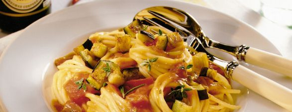 Spaghetti à la Sauce Tomate et Soja