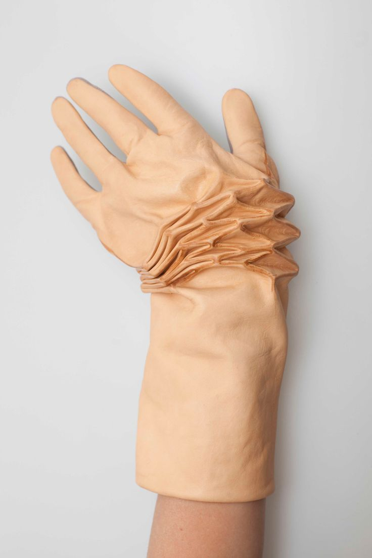 Collection: Concealed Layers of Product Life by Renee Verhoeven. The autonomy of the skin translated into material.