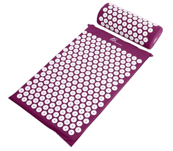 Prosource Acupressure Mat Set And Pillow Back Pain