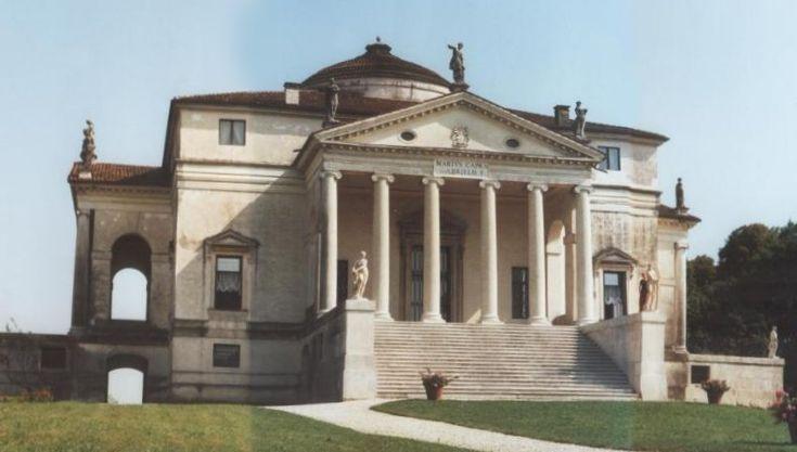 Andrea Palladio: La Rotonda/Villa Rotonda, Vicenza, 1567–1591