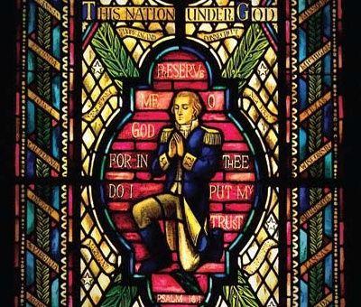 Image result for george washington praying glass