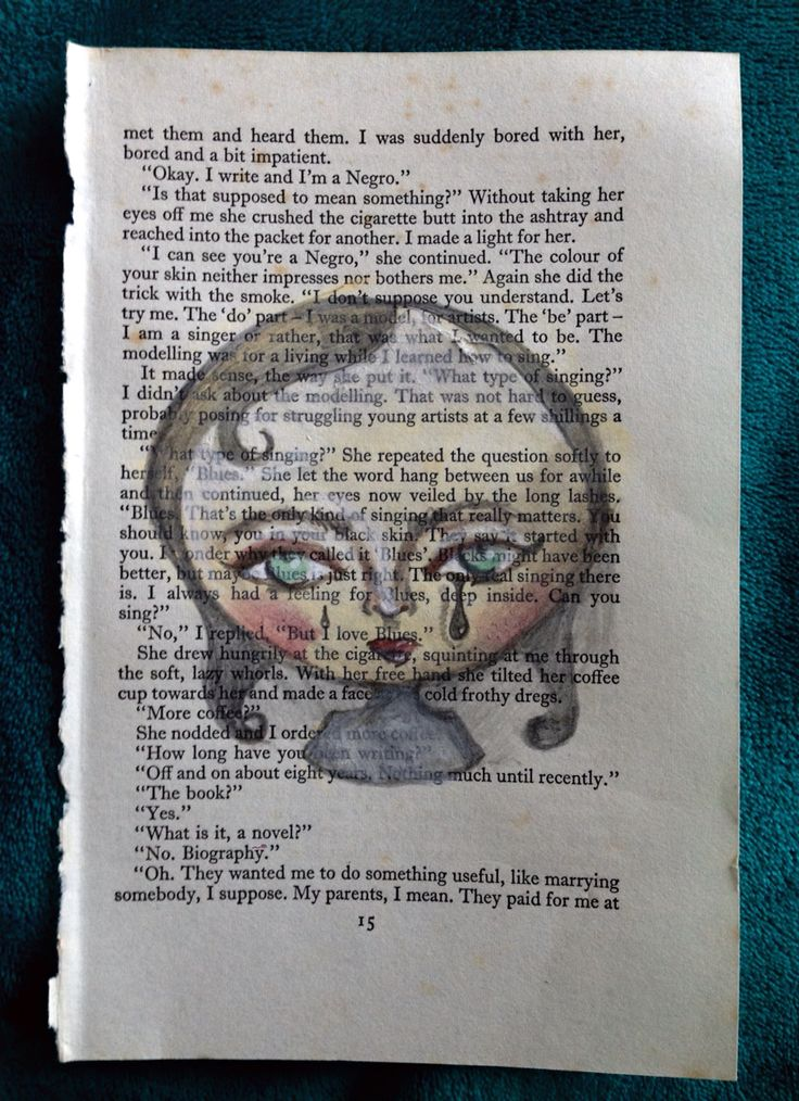 Random free time drawing on book page~ By Tori Timmings #popsurrealism