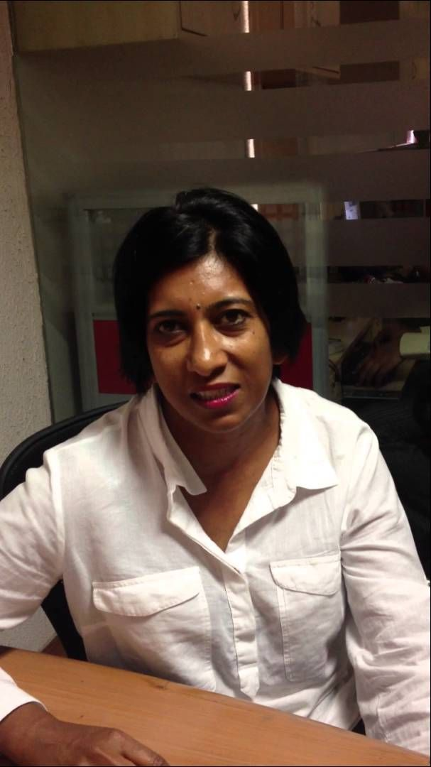 Mrs Tillie Chetty from South Afirca