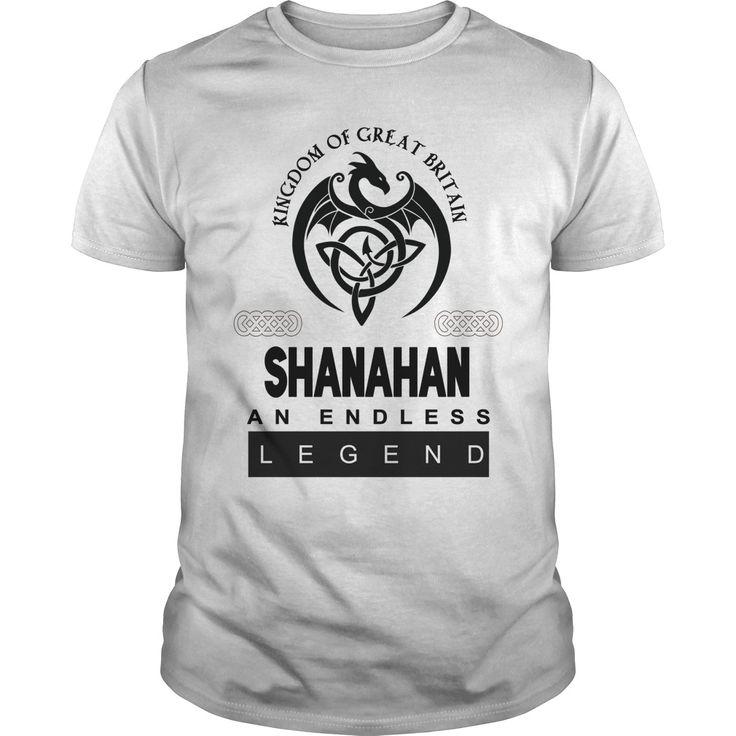Kingdom of great britain SHANAHAN AN ENDLESS LEGEND T Shirt Design