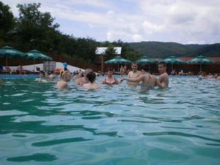 S-a deschis cel mai mare ştrand cu apă sărată din România. Care este preţul unui bilet de intrare - GALERIE FOTO