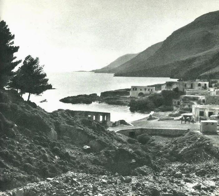 Village of Hora Sfakion From French photographer Claude Dervenn is a collection of beautiful black and white photographs of Crete in the 1950s.