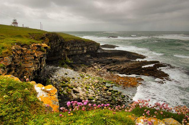 Irland Landschaft Küste im Irland Reiseführer http://www.abenteurer.net/1903-irland-reisefuehrer/