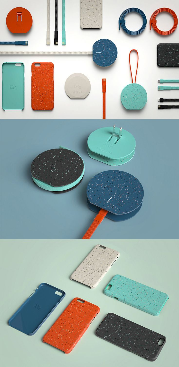 The 'OLKA collection' of mobile accessories is designed to be intuitive to use, minimal in form and yet totally fun... READ MORE at Yanko Design !