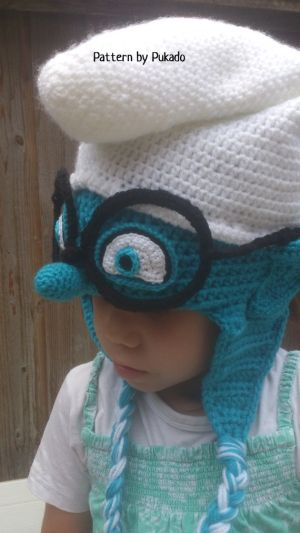Crochet Pattern - Smurfs Hat - Instant Download - 3 sizes included - Halloween costume idea by Pukado