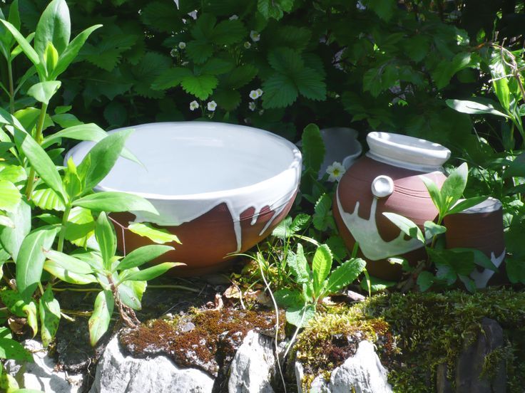 Lovely day in spring. Stephen Pearce Pottery.