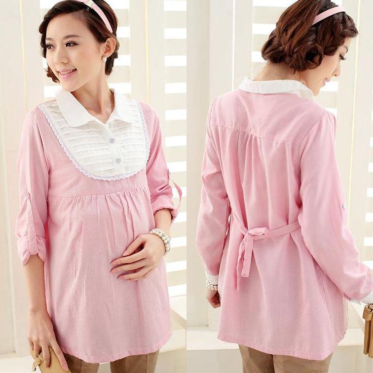 Explosion models Korean feeding clothing Maternity pregnant women autumn shirt fashion sweet Nursing Wear 202