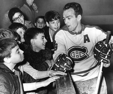 Henri Richard (The Pocket Rocket) making time for the fans | Montreal Canadiens | NHL | Hockey