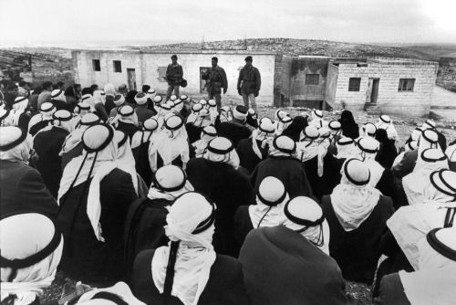 ISRAEL. 1967. Suspects (pursuit) in Samaria, West Bank by Micha Bar-Am