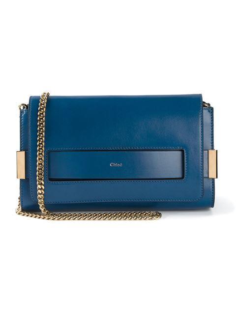 Shop Chloé 'Elle' shoulder bag in Smets - Chloé - pres spring 2015 - SMETS