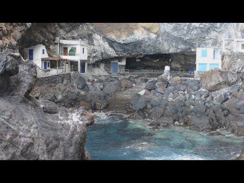 De piratenkloof in het westen van La Palma, aan de kust bij Tijarafe. http://www.lapalma-rondreis.nl