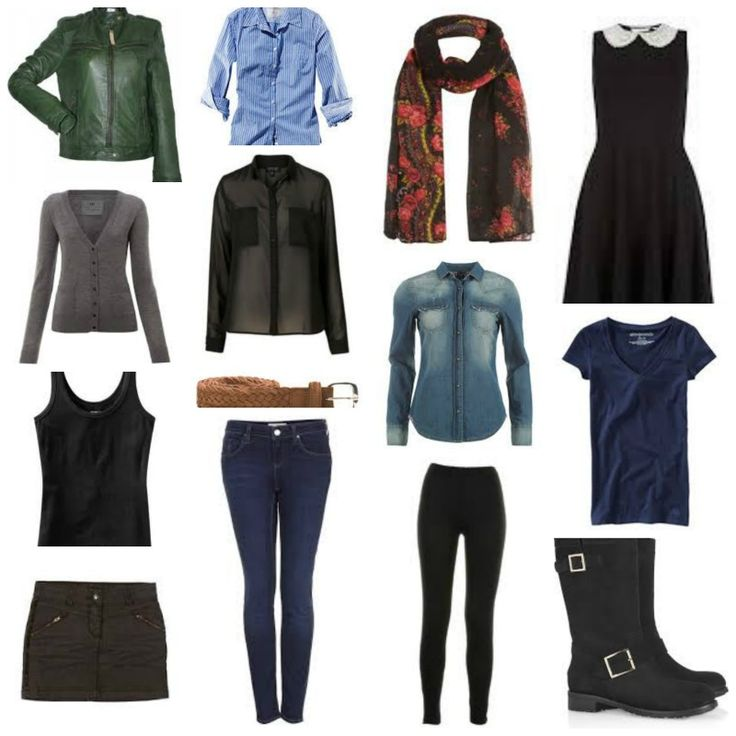 Carry-On Travel packing- Mix&Match outfits for two weeks. Europe/Winter/Fall/Early Spring.