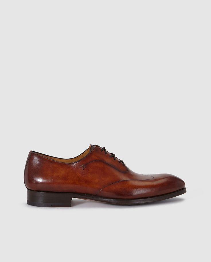 Zapatos de vestir de hombre Magnanni en piel de color marrón claro · Magnanni · Moda · El Corte Inglés