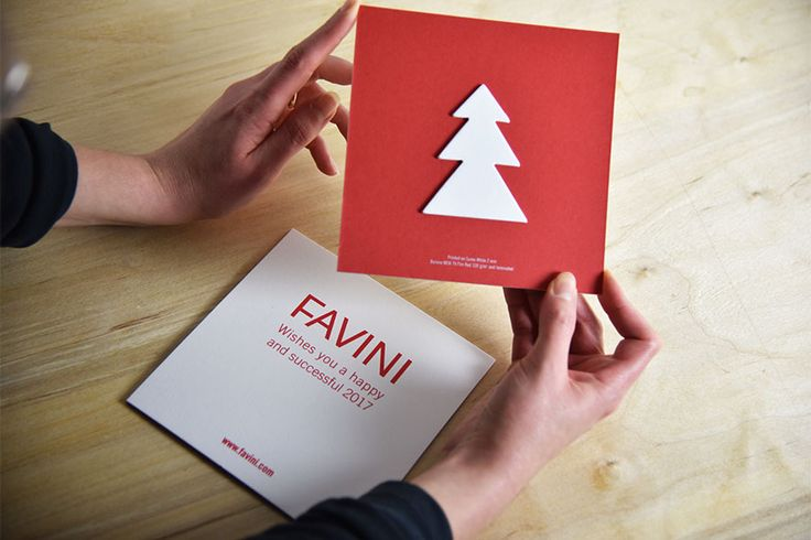 #Favini #christmascard on #Sumo http://www.favini.com/gs/en/fine-papers/sumo/features-applications/ and #Burano Fire Red http://www.favini.com/gs/en/fine-papers/burano/features-applications/
