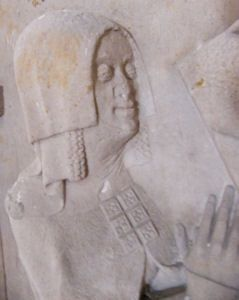 Theoderich of Witzleben 1376 and wife Hedwig  Germany Arnstadt Liebfrauenkirche