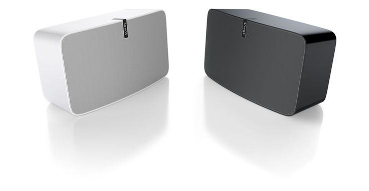 GRO design - Sonos play 5 white and black