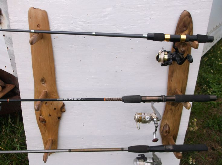 7 best images about bass on pinterest wall mount for Wall fishing rod holder