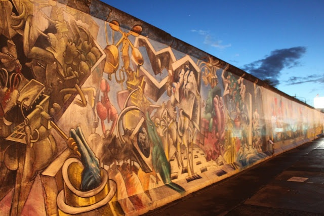 East Side Gallery, Berlin Wall, Berlin, Germany