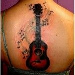 Guitar Tattoo (3)