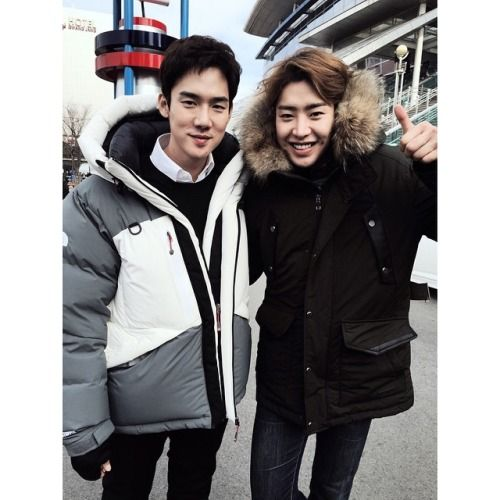 Yoo Yeon Seok with Park Min Woo | 20141219 Park Min Woo's Instagram Update 'The Mood That Day'