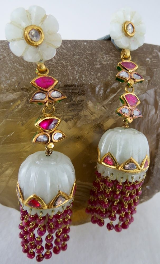 Length of the jhumki is 15mm. Pansari jewels are proud to be introduce itself as a seventh generation jewellers indulge in manufacturing, wholesaler and exporter of all type of natural precious and semi precious stone jewellery.