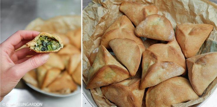 Recette de pirojki, ces délicieux petits chaussons farcis d'origine Russe. Ici, une version à la pâte briochée et aux épinards.