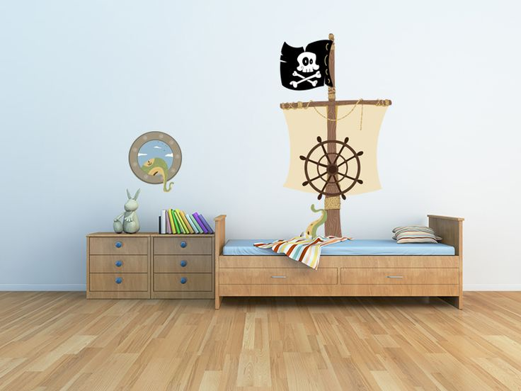 Prinsessen Decoratie Slaapkamer : ... - Piraat Kamerdecor, Jongen ...