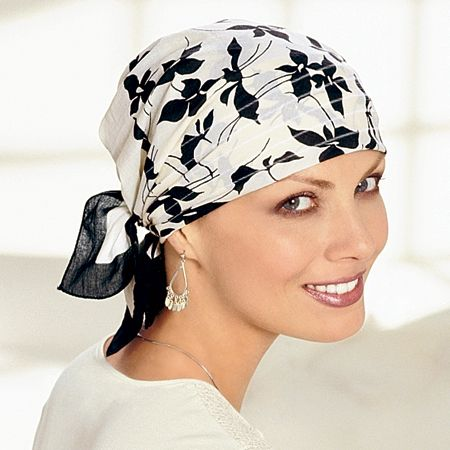 Cancer Patient Head Scarves, Chemo Scarf, Head Wraps, Cancer Scarves, Headwear For Cancer Patients - TLC