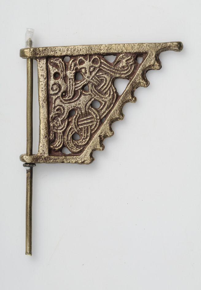 Viking mini weatherwane, exhibited at Swedish History Museum.