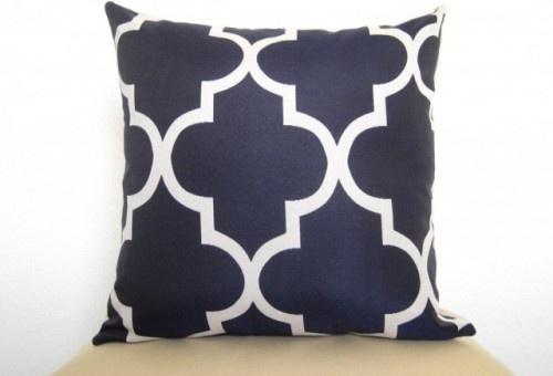 Moroccan Quatrefoil Lattice Designer Pillow By Willa Skye