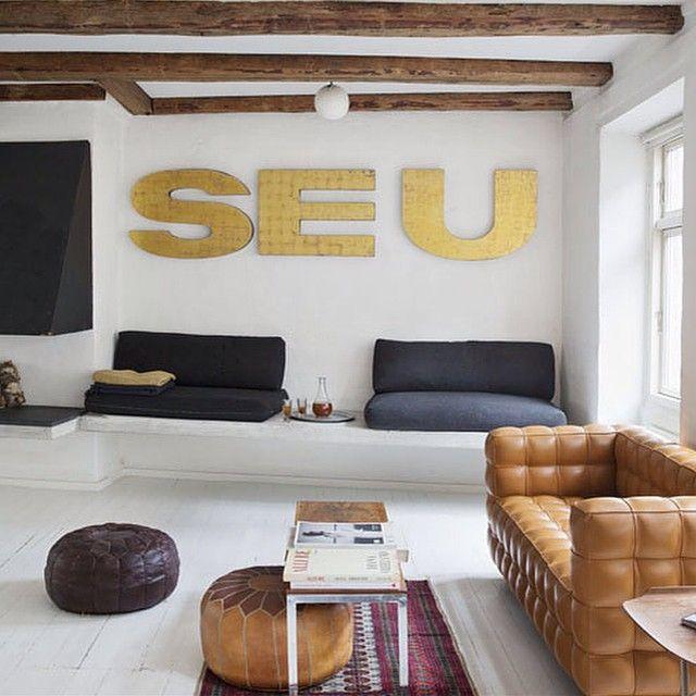 Fabulous apartement of Maria Meilgaard featured in KK Living! kkliving.no