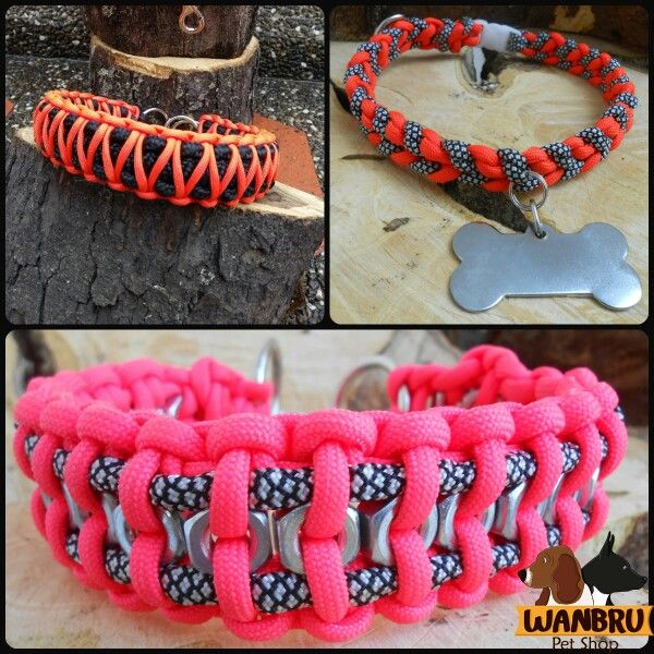 #pararacord #dogs #collar #handmade #wanbru_store