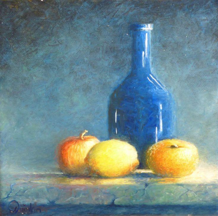 "Original oil painting - 10"" x 8"" still life by Chris Quinlan Art"