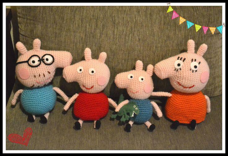 Peppa Pig family by gengibrecroche.deviantart.com on @deviantART