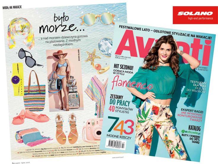 Avanti Magazine #eyewear #shopping #woman #magazine #press #sunglasses