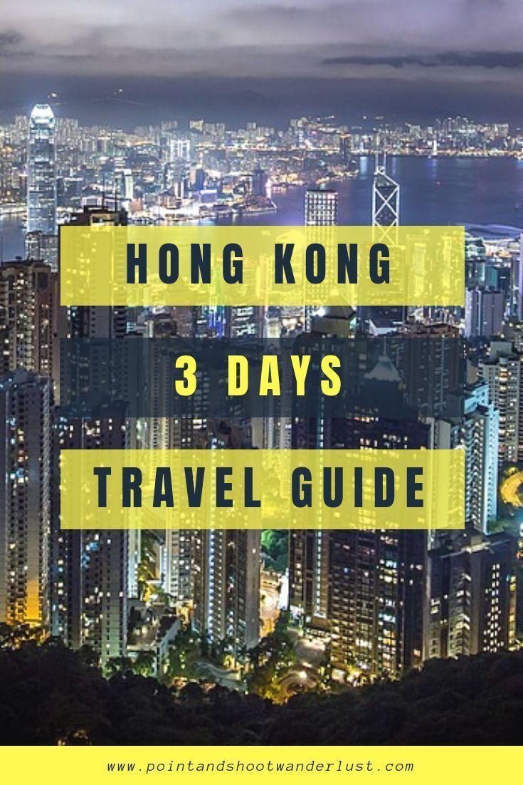 hong kong 3 days itinerary guide and tips travel hong kong rh pinterest com hong kong what to do on a rainy day