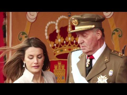 REINA LETIZIA ORTIZ insultada gravemente por el REY JUAN CARLOS I - YouTube