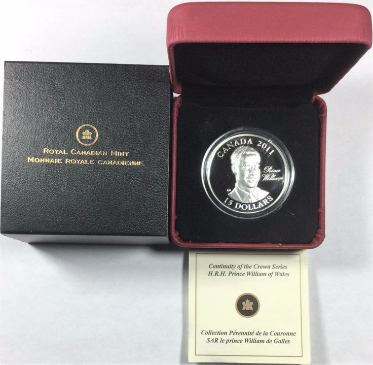 The 2011 Ultra-High Relief Sterling Silver Coin - H.R.H. Prince William of Wales is a part of the The Royal Canadian Mint's Continuity of the Monarchy coin program. This coin is a legal tender of $15 and minted in 92.5% silver. It has a diameter of 36.15 millimeters and weighs 30 grams. The rare ULTRA HIGH RELIEF design depicts Prince William of Wales, designed by artist Laurie McGaw. Prince William was born on June 21, 1982 and baptized Prince William Arthur Philip Louis. As second in li...