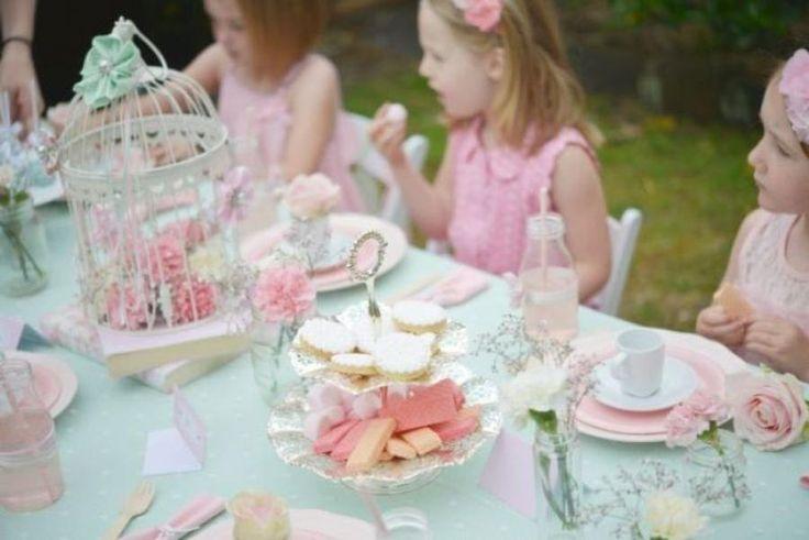 tea party time für Kinder auch!