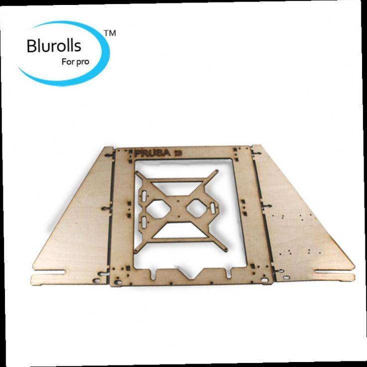 43.63$  Watch now - http://alijm4.worldwells.pw/go.php?t=2040028127 - 3d printer parts reprap mendel prusa I3 laser cut frame wooden in 6mm plywood free shipping  frame housing made of basswood