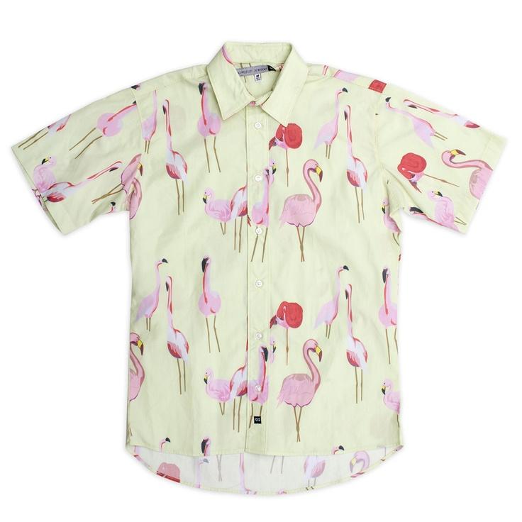 Ambsn — Flamango Button-Up Shirt