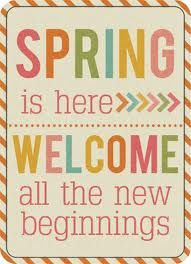 Perhaps Spring reminds us that EVERY day should be like it-renewed, revived, a new beginning in every moment.#bliss