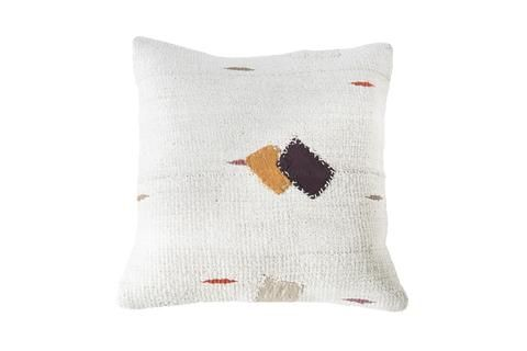 TIGMI TRADING - Turkish Kilim Cushion $149  Please visit www.tigmitrading.com for there wide selection of kilim cushions